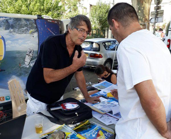 Journée des associations du club de parapente Zeld'Herault ce samedi 2 Sept 2017.